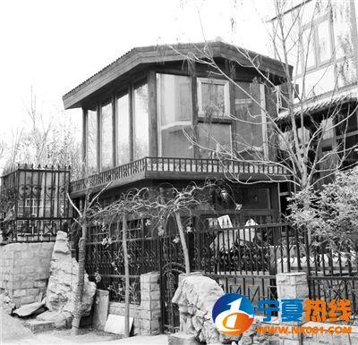 两层小楼构别墅型架图